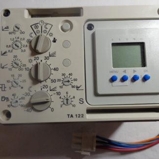 Junkers TA 122 E/A  Heizungssteuerung mit Digitaler Uhr
