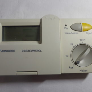 Junkers Ceracontrol TR 200 NR.7 744 901 046 Raumtemperatur Regler