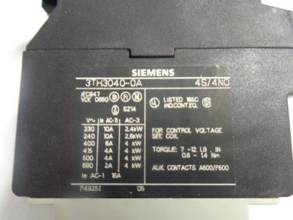 Siemens 3TH3040-0A  Schütz 220V 50HZ