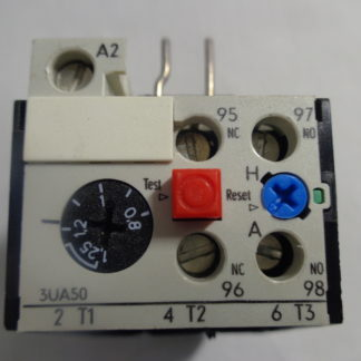 Siemens 3UA50 00-0K Überlastrelais 0,8 - 1,25A