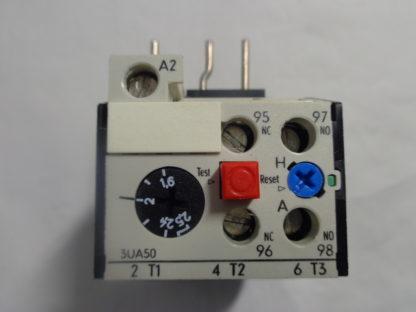 Siemens 3UA50 00-1C Überlastrelais 1,6 - 2,5A