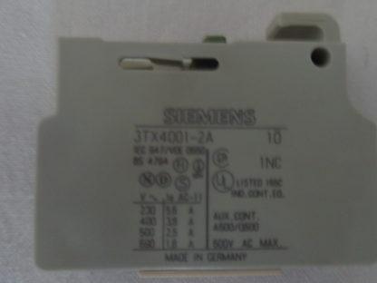 Siemens Hilfskontakt 3TX4001-2A