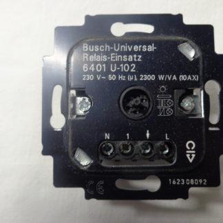 Busch-Jaeger - Wächter 6401 U-102 Busch-Universal-Relais-Einsatz