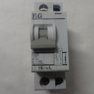 F&G L7 16/1N/L Sicherungsautomat