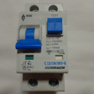 Schrack C13/1N/003-G FI/LS