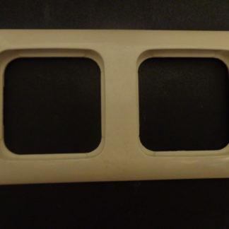 Busch und Jäger 2512-21-K 2fach Rahmen Cremeweiß