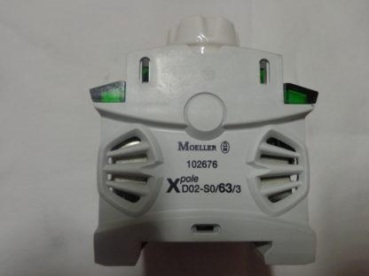 Moeller D02-SO/63/3 Sicherungssockel