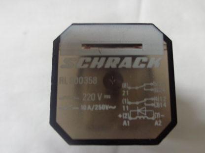 Schrack RL900358 Relais mit Omron PF083A-E Sockel