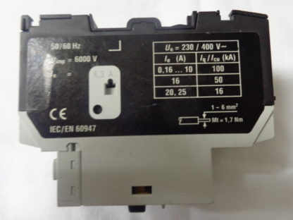 Köckner Moeller PKZM0 - 6,3 Motorschutzschalter mit NHI-E-11 PKZ0 Hilfsschalter
