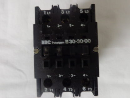 BBC B30-30-00 Schütz 220V 50HZ, 255V 60HZ