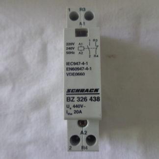 Schrack BZ 326438 Installationsschütz