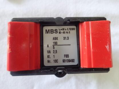 MBS ASK 31.3 150/5 Aufsteck Stromwandler