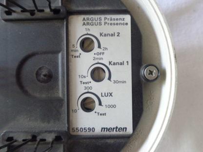 Merten Argus Präsenz 2 Kanal 550590 + 5505 2 Kanal