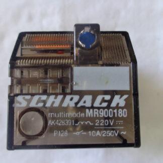 Schrack multimode MR900180 Relais + Sockel Omron PF 113A-E Sockel