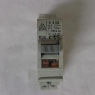 BBC E 432 Stromstoßschalter