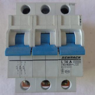 Schrack L16A Sicherungsautomat