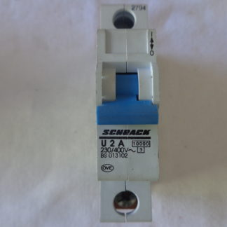 Schrack U 2A Sicherungsautomat 1pol