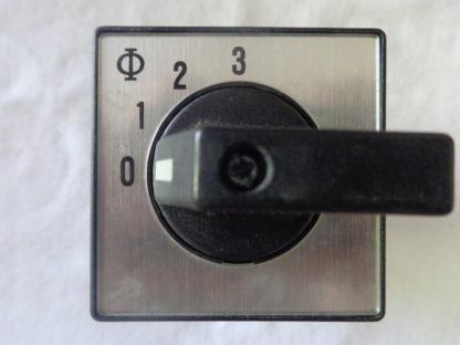 Kraus & Naimer CH10 Schalter 0-1-2-3