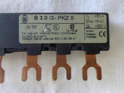 Klöckner Moeller B3.0/2- PKZ 0 Drehstromschienenblock