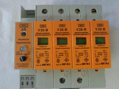 OBO V25-B  Überspannungsableiter mit Akustischer Signalisierung