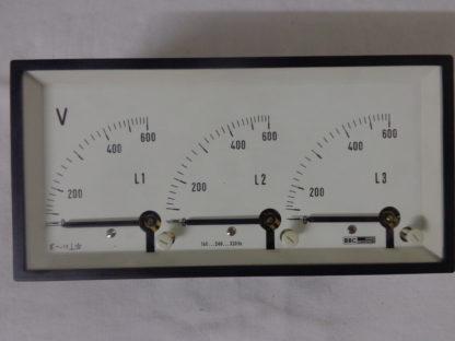 BBC Goerz METRAWATT Voltmeter analog