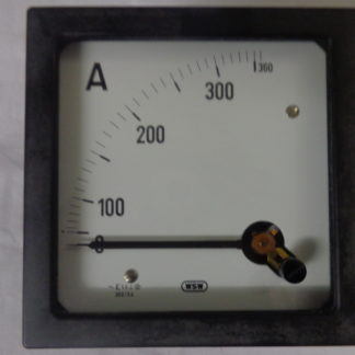 WSW Amperemeter 360A analog