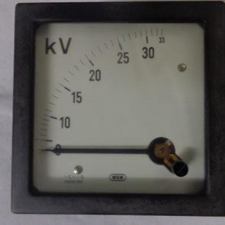 WSW  Voltmeter 33 KV analog
