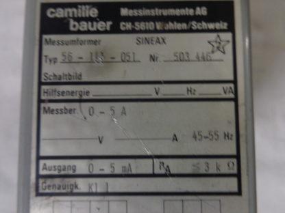 Camille Bauer Messumformer Sineax