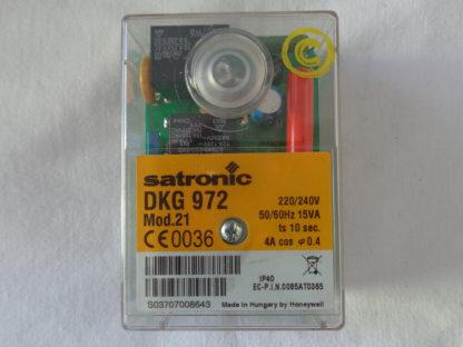 Satronic DKG 972 MOD. 21 Feuerungsautomat