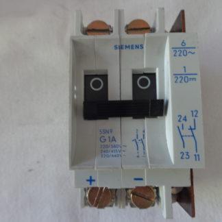 Siemens 5SN9 G1A Sicherungsautomat 2pol mit hilfsschalter