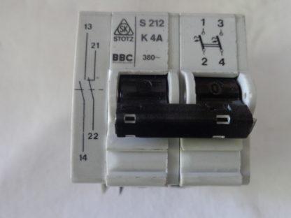 BBC S212 K4A Sicherungsautomat