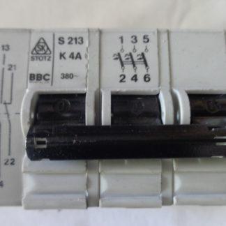 BBC S213 K4A Sicherungsautomat 3pol