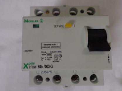 Moeller PFHM-40/4/003-G Thermogeschützt  - 25°     FI, Schutzschalter