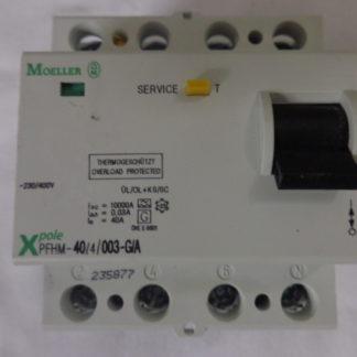 Moeller PFHM -40/4/003-G/A Thermogeschützt -25°  FI, Schutzschalter