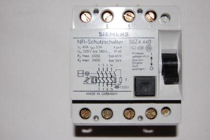 Siemens NFI Schutzschalter 5SZ4 440     40A/01