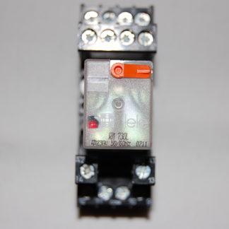 Tele Haase RM 730L Relais mit Sockel