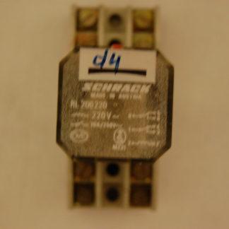 Schrack RL206220 Relais mit Sockel