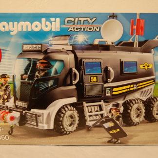 PLAYMOBIL 9360 SEK-Truck mit Licht u. Sound