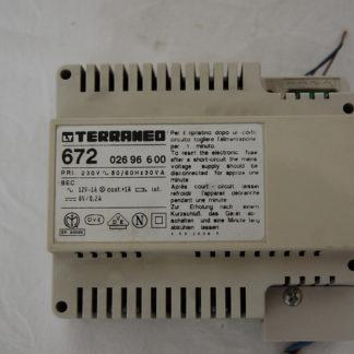 Terraneo 672 Netzgerät für Hudschienenmontage