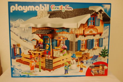 PLAYMOBIL 9280 Skihütte