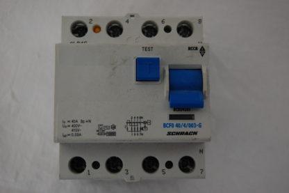 Schrack FI Schutzschalter BCF0 40/4/003-G