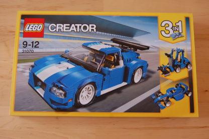 LEGO Creator 31070 Turborennwagen