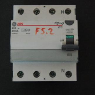 AEG FI Schutzschalter 40A 30mA