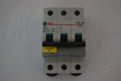 AEG Sicherungsautomat 3pol. C16  EP 63