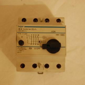 Hager 40A 0,1 A FI Schutzschalter Inter diffentriel U847