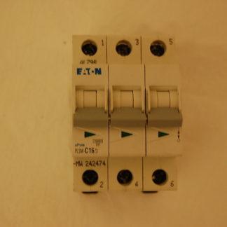 EATON Sicherungsautomat PLSM-C16/3