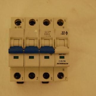 Schrack Sicherungsautomat C25/3N