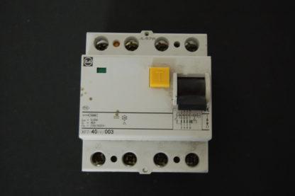 F&G FI  Schutzschalter  XF7-40/4/003