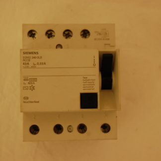 Siemens FI Schutzschalter RCCB 63A003