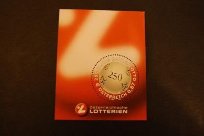 Österreich 2002 Block postfrisch 250 Jahre Zahlenlotto ANK 2430